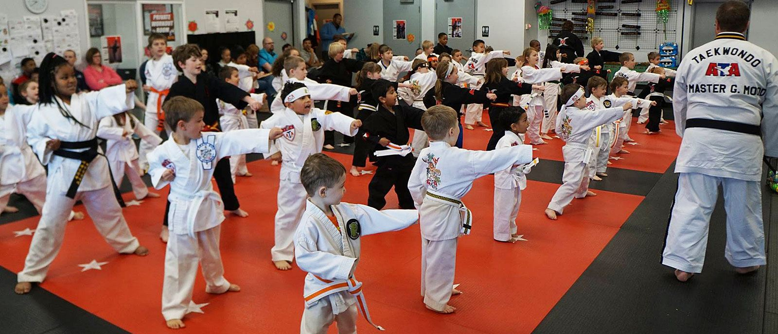 Karate Built Grand Rapids kids class